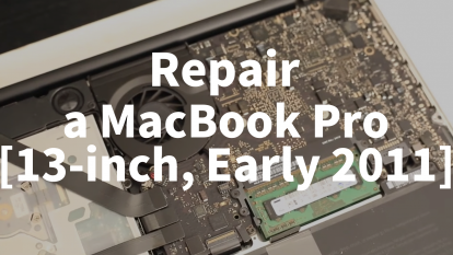 【Mac修理】Repair a Macbook Pro [13-inch, Early 2011] Model No:A1208 / Macbook Proを解体&修理